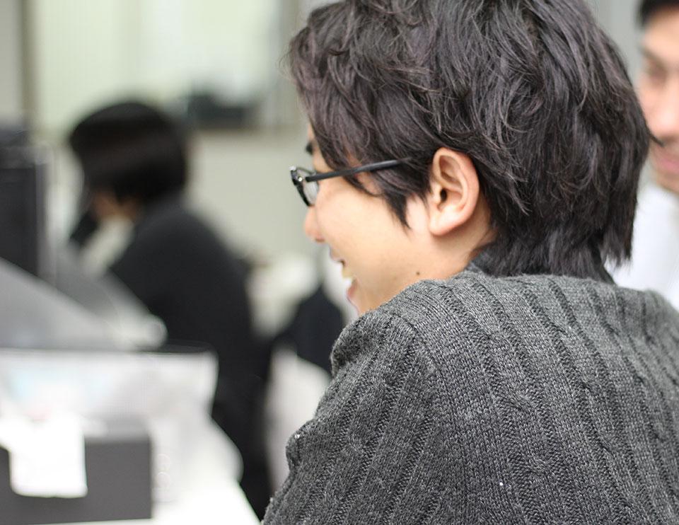 S・Hさん 社員インタビュー1